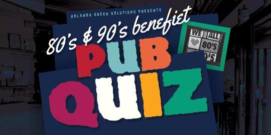 80's & 90's Benefiet Pubquiz